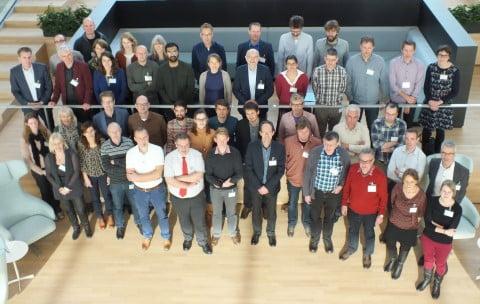 The participants of the OperAqua symposium.