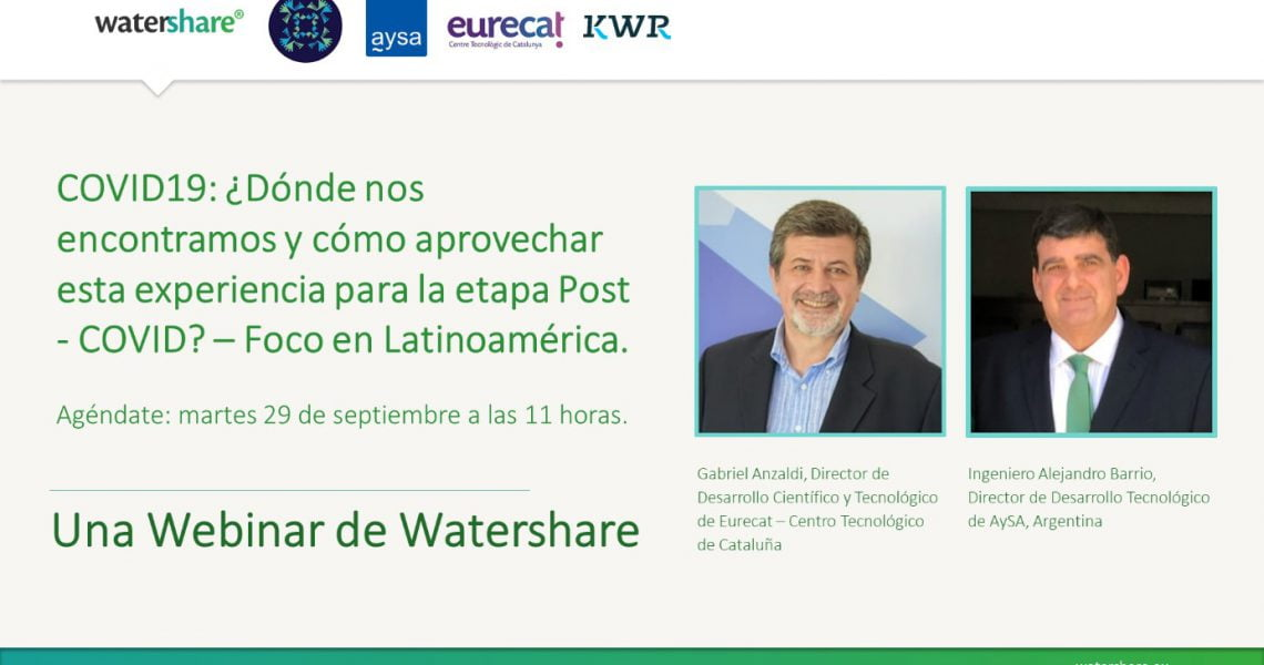 Webinar COVID19: Where are we now and how utilities can move beyond the coronavirus – A Latin America Focus