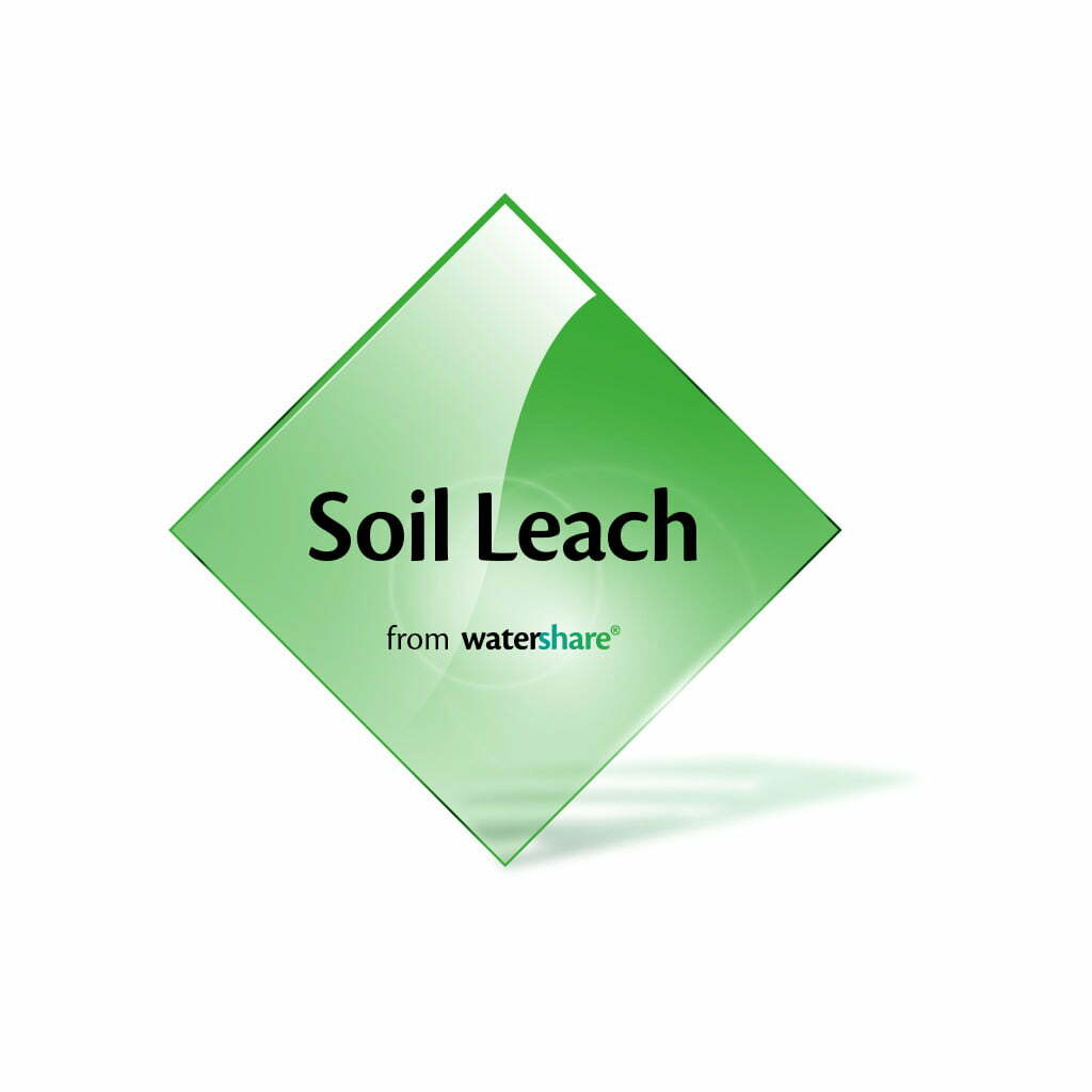 Soil leach watershare for Soil content