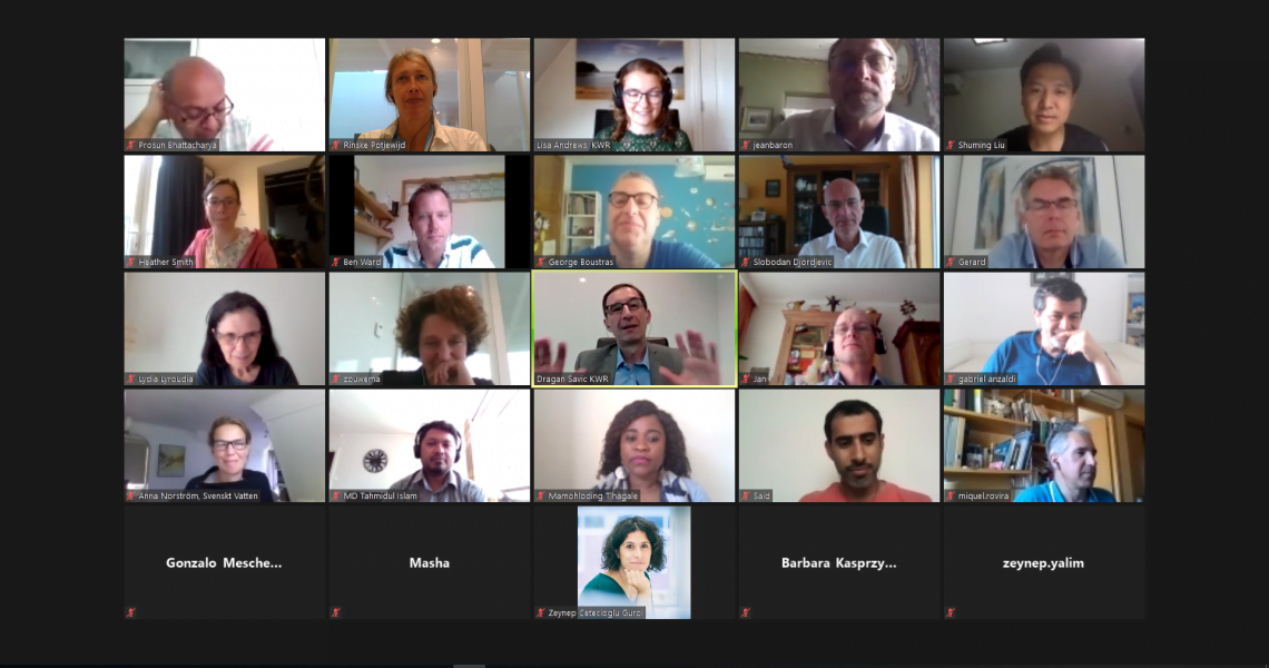 The Watershare anual meeting 2020 was a digital meeting