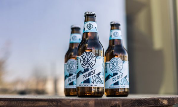 first beer brewed with recycled water